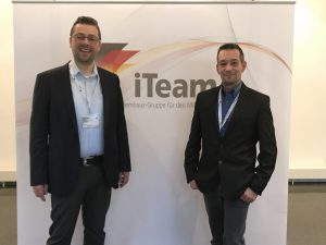 Thorsten Dampf und Tobias Heinl auf den iTeam Systemhausgesprächen 2017